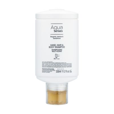 Aqua Senses - Haar- und Körperseife, 330 press + wash