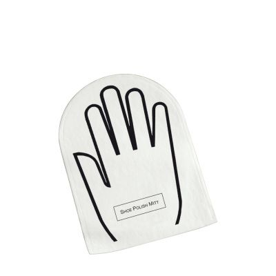 White & Black Accessoires - Schuhputzhandschuh