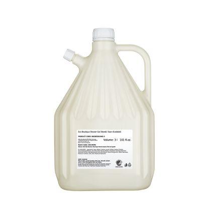 ECO-BOUTIQUE - Duschgel, 3 Liter, Nachfüllpack