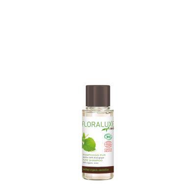 FLORALUXE - Mildes Bio-Shampoo in Reisegröße, 30 ml
