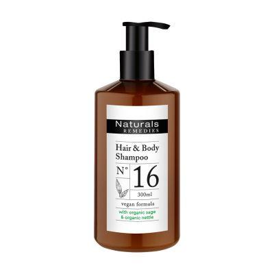 Naturals REMEDIES - Haar- und Körpershampoo, 300 ml