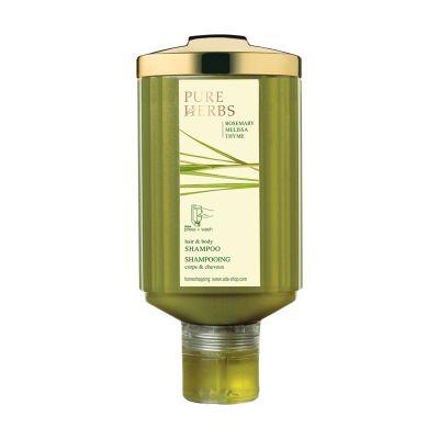 PURE HERBS - Haar- und Körperseife, 300 ml, press + wash