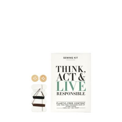 Think Act & Live Responsible - Nähetui