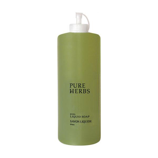 PURE HERBS - Flüssigseife, 1 Liter, Nachfüllpack